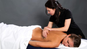 massage therapist london